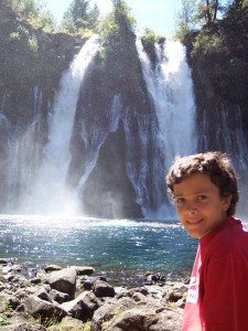 Nigel at Burney Falls